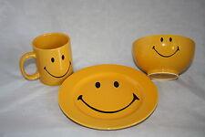 Smiley Set Wächtersbach  21cm Frühstücksteller neu fun factory 2.Wahl gelb