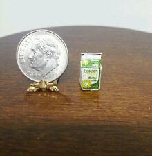 1:12 Dollhouse Miniature Food Carton of Butter Milk NOS