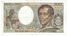 France #155a 200 francs CIRC (#15)