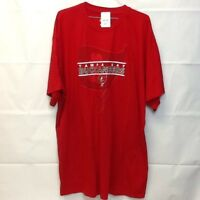 *NEW* Tampa Bay buccaneers Men's 4XL Majestic Red T Shirt (Spot)