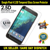 Google Pixel 4 2.5D Tempered Glass Screen Protector Protective and Durable