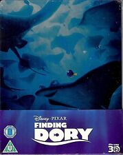 Finding Dory Limited Edition SteelBook w/Slip (Region A, B & C UK Import) - READ