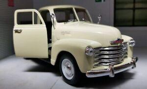 G LGB 1:24 Echelle 1953 3100 Chevrolet Pickup Camion WELLY Miniature V Détaillé