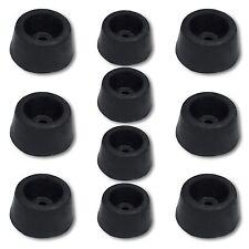 10 Gummi-Türstopper zum Anschrauben Gummistopper