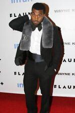 Louis Vuitton Echarpe Rex Rabbit Fur Muffler Scarf Gray Supreme Virgil Abloh