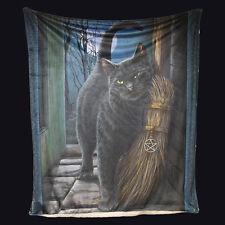 Nemesis Now un cepillo con Magick Manta 160CM. las Brujas Gato Negro.