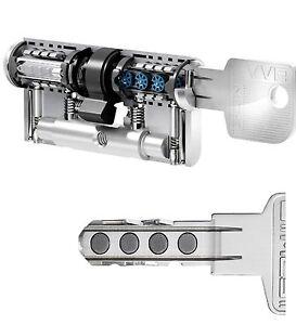 EVVA MCS Magnet-Technologie Schließzylinder Schließanlage Doppelzylinder