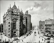 Buffalo New York #2 Photo 8X10 - Niagara Street 1908