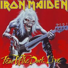 IRON MAIDEN Fear of the Dark Live BANNER HUGE 4X4 Ft Tapestry Fabric Poster Flag