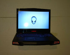 Alienware M17x R2 gaming laptop, Windows 10, i7 CPU, 8GB,250GB SSD,needs battery