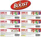 save on BOOST nutritional drink powder $18 + Bonus [Canada] {A