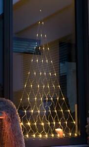 LED Lichterkette Tannenbaum Baum Fenster Deko Weihnachtsdeko Beleuchtung Timer