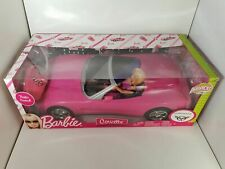 BARBIE Corvette Voiture Radio Commandée Radio Control RC Mattel 2009 NEUF SCELLE