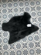 Traditional Real Sheepskin Rug Seat Cover / Pet Bed / Plush Chair Pad Motorbike