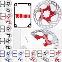 Bike Disc Brake Front Rear Disc 140-203 Mm Rotor Brake Kit For Mountain Bicycle