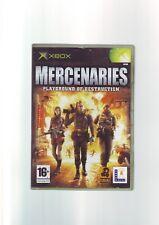 MERCENARIES PLAYGROUND OF DESTRUCTION - XBOX GAME / + 360 ONE ORIGINAL COMPLETE