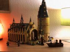 Harry Hogwarts Potter Great Wall Lego figures Set Model Building Blocks House
