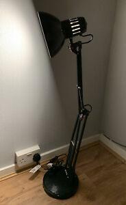 Retro Black Anglepoise Style Adjustable Desk Lamp