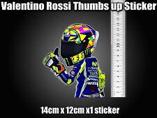 Valentino Rossi Sticker Decal laptop helmet bike car scooter 46 agv moto Thumb