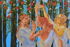 Allegory of Spring (part.) La Primavera di Botticelli (part.) - Artist: Leon 47