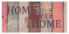Bild Keilrahmen Home sweet Home Holz Vintage bunt 33x70cm
