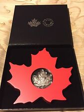 Fine Silver Coin – The Canadian Maple Leaf (2015)