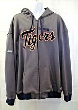 Stitches Detroit Tigers 2XL MLB Baseball Hoodie Track Jacket Full Zippered 2XL