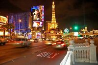 Las Vegas strip traffic original hand signed Giclee photograph by Arnold