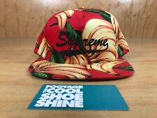 SUPREME BANANA SCRIPT LOGO 5-PANEL SNAPBACK HAT SPRING SUMMER 2016 SS16 RED BNWT