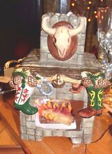 Figi Christmas Western Chimineas Candle Holder Chim-101 New Wow! $32.95 Msrp