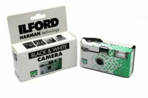 Ilford HP5 B&W Single Use / Disposable Camera with Flash - Fresh UK Stock