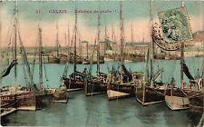 CPA CALAIS Bateaux de Peche (406034)