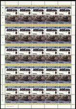 1924 LMS Fowler CLASS 4F (Duck Six) Train 50-Stamp Sheet (Leaders of the World)