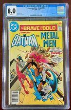 BRAVE AND THE BOLD #135 CGC 8.0 WP VF (DC 1977) BATMAN & METAL MEN 🔑