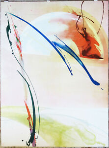 Peter Kitchell - Exceptional Abstract Lithograph - Desert Dreamt - S/N