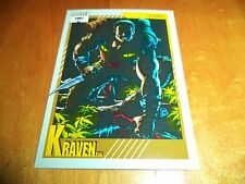Kraven # 143 - 1991 Marvel Universe Series 2 Impel Base Trading Card