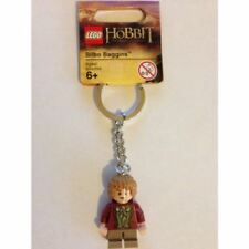 LEGO HOBBIT LORD OF THE RINGS BILBO BAGGINS KEYCHAIN LOTR BOYS BIRTHDAY GIFT NEW