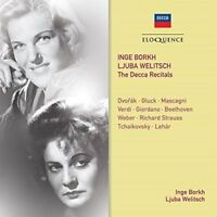 Ljuba Welitsch Inge Borkh - Inge Borkh, Ljuba Welitsch: The Decca Recitals [CD]