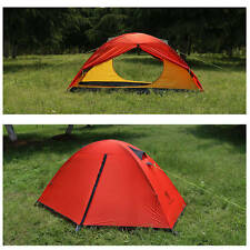Ultralight Camping Tent - 1 Man Backpacking Tent - 3 Season - Just 1.8kgs RED
