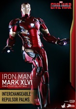 1/6 scale Hot Toys Iron Man Power Pose Mark XLVI Collectible Figure
