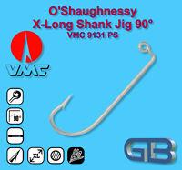 VMC O`Shaugnessy X-Long Shank Jig 90° Haken 9131 PS Bleigussform Jigköpfe gießen