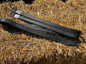 """Stirrup Leathers - Black and Brown, 54"""" and 61"""" - Pimp My Pony"""