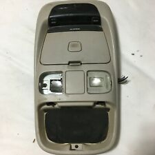 98-01 DODGE RAM 1500 OEM OVERHEAD CONSOLE w/ DISPLAY REPAIRED