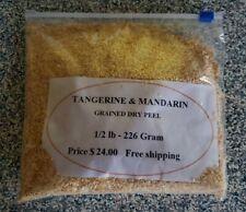 Tangerine & Mandarin dry peel and powder for Tea