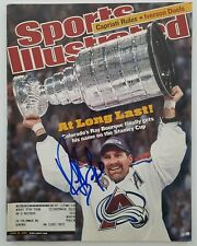 Ray Bourque Signed Sports Illustrated Magazine June 18 2001 Avalanche Bruins Rad