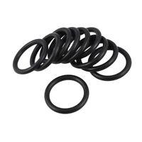 10 PCS Schwarz Gummi Oil Seal O-Ring Dichtung Unterlegscheiben 26x3x20mm W3 K2I5