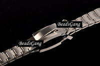 STAINLESS STEEL WATCH BRACELET STRAP GLIDELOCK FOR ROLEX YACHT-MASTER OYSTR 20mm