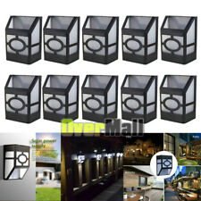 5/10x Solar Deck Lights Led Outdoor Garden Decor Wall Mount Fence Post Lighting