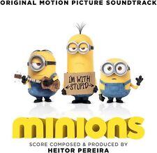 MINIONS - (HEITOR PEREIRA) Original Soundtrack  (CD) Sealed