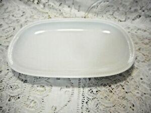 Arzberg Germany Athena White Serving Platter Fine China Vintage '68-90 26.5 cm